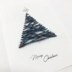 ツリーのクリスマスカード