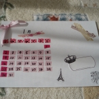 マスキングテープで☆おしゃれカレンダー