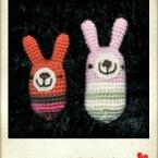 赤ちゃんのニギニギ編みぐるみ