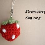 *苺のキーホルダー*