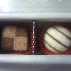 バレンタインのチョコレートボックス