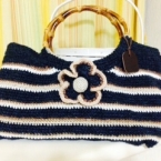 麻糸で作る夏かばん