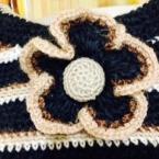 「麻糸で作る夏かばん」アクセサリー