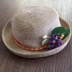 子供用帽子のリメイク