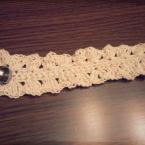 たこ糸で編むブレスレット
