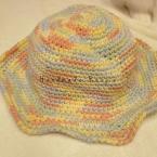 細編みだけで編めるクローシュ