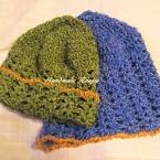 簡単なのにレース編みみたいな可愛い帽子
