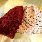レース編みみたいな上品な帽子
