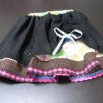 直裁ち簡単♪2段スカート☆四角い布+直線縫いのみ☆