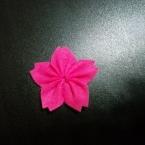 簡単!フェルトのお花~桜・さくら・サクラ~