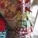 芳香剤でクリスマスツリー