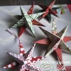 クリスマススター 星型オーナメント