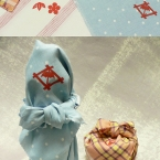 季節が薫る 贈り物の名脇役、手づくりふろしき
