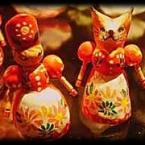 ★メルヘンな女の子と猫のお人形★
