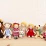羊毛フェルト人形