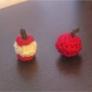 りんごのマスコット2種