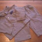 Lサイズのポロシャツから長袖も作りました
