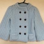 カギ編みジャケット