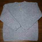 息子のセーター。