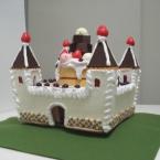 お菓子のお城