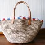 細編みのマルシェバッグ