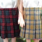 お人形(22~27cm)プリーツスカート