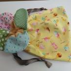 花びら巾着の作り方