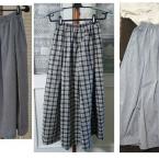 かんたん直線裁ちタックギャザースカート