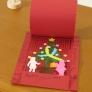 クリスマス・サプライズカード
