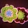 手編みのイヤフォーンケース