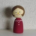 紙粘土の指人形