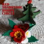 クリスマスなヘアゴム