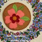 お花のコースター