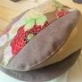 菊のモスリン素敵!チノとコラボハンチング