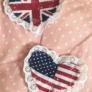 イギリスとアメリカのハートピン