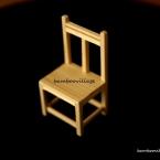 簡単☆ミニチュア小物の作り方 『椅子』