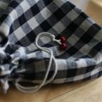 基本の巾着(マチAタイプつき)