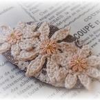 お花のバレッタ♪