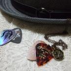 男の子用☆ギターピックのネックレス