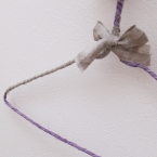 fogのリネンのはぎれテープで作るリメイクハンガー