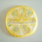 レモンの鍋つかみ&鍋敷き