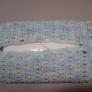 かぎ針編みの簡単ティッシュケース