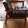 こま編みで編む椅子脚カバー丸型(編み図あり)