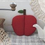 りんごのポットマット(なべつかみ)♪