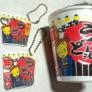 ★カップ麺の空き容器でプラ板工作★