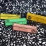 色画用紙で作るイニシャルテープボックス