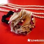 チェリーボンボンシュシュ の作り方 ラドロー風❤