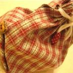 マチも一緒に縫える簡単巾着