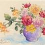 花瓶の薔薇たち