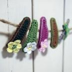 編みぐるみぱっちんピン